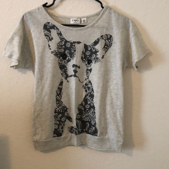 Cato Other - Puppy dog Girls shirt